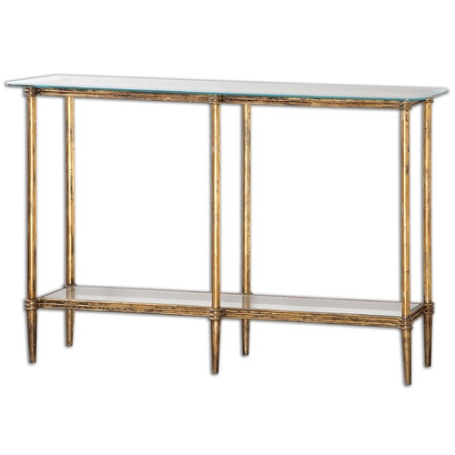 Uttermost Lighting Uttermost Elenio Glass Console Table 24421