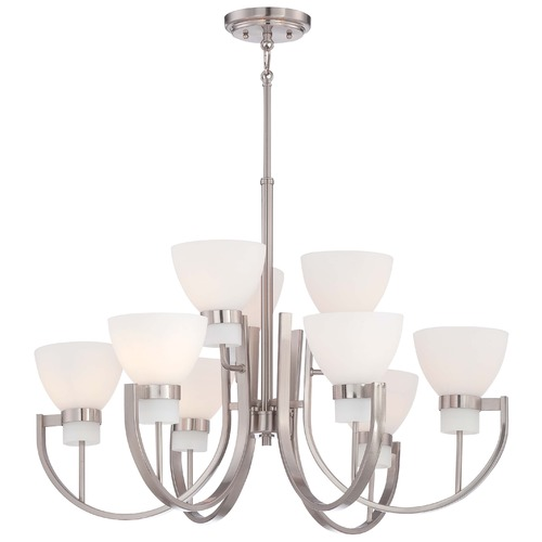 Minka Lavery Minka Hudson Bay Brushed Nickel Chandelier 4389-84
