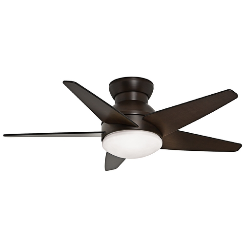 Casablanca Fan Co Casablanca Fan Isotope Brushed Cocoa Ceiling Fan with Light 59020