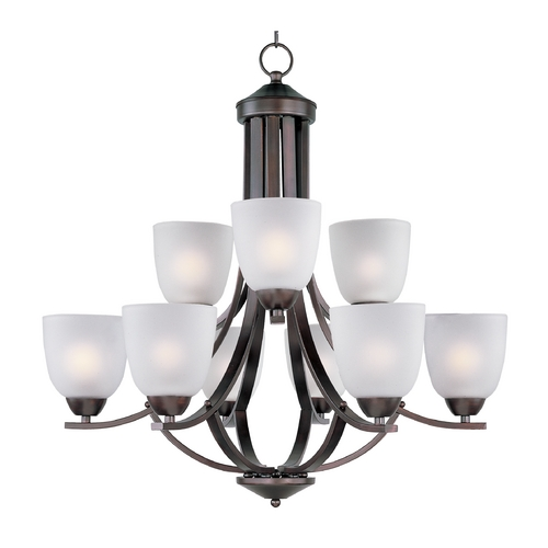 Maxim Lighting Maxim Lighting Axis Oil Rubbed Bronze Chandelier 11226FTOI
