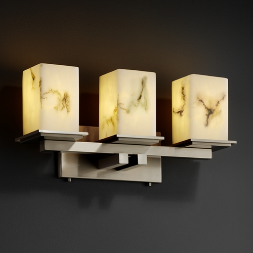 Justice Design Group Justice Design Group Lumenaria Collection Bathroom Light FAL-8673-15-NCKL