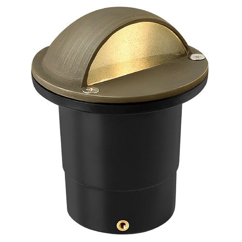 Hinkley In-Ground Well Light in Matte Bronze Finish 16707MZ