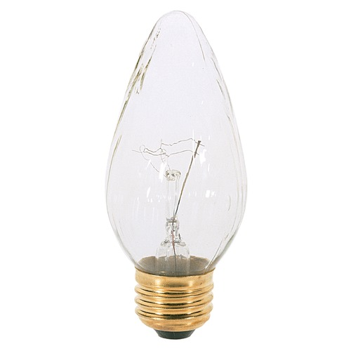 Satco Lighting Incandescent F15 Light Bulb Medium Base 120V Dimmable by Satco S3367
