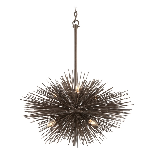 Troy Lighting Pendant Light in Tidepool Bronze Finish F3666