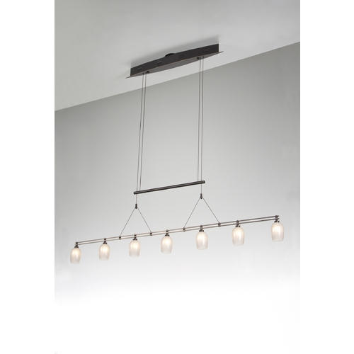 Holtkoetter Lighting Holtkoetter Modern Low Voltage Pendant Light in Hand-Brushed Old Bronze Finish 5517 HBOB G5035
