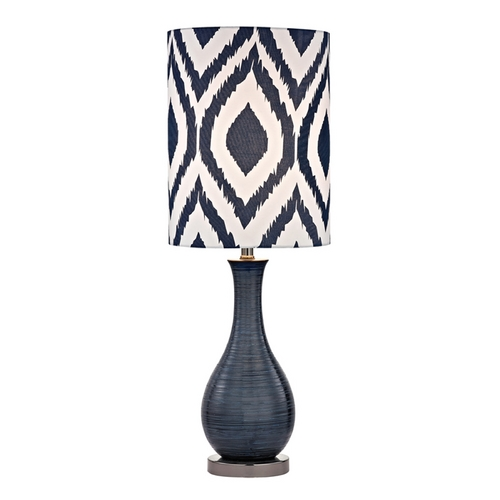 Dimond Lighting Accent Lamp in Navy Blue with Black Nickel Finish D2517-LED