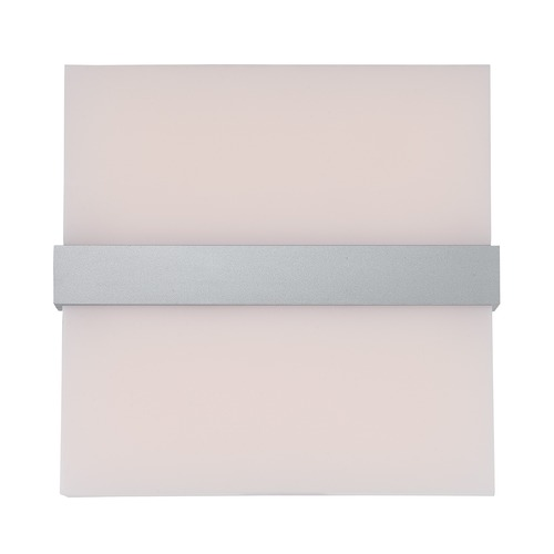 Lite Source Lighting Lite Source Lighting Quentin Silver LED Sconce LS-16799SILV