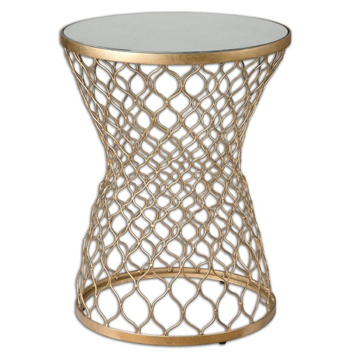 Uttermost Lighting Uttermost Naeva Gold End Table 24422