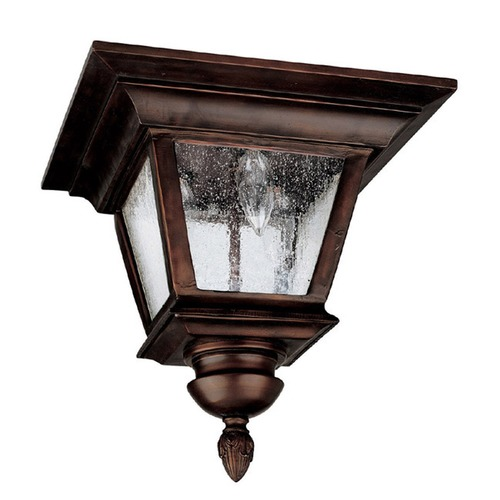 Capital Lighting Capital Lighting Brookwood Burnished Bronze Close To Ceiling Light 9968BB