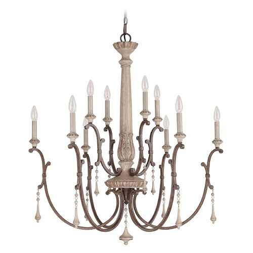 Capital Lighting Capital Lighting Chateau French Oak Chandelier 4090FO