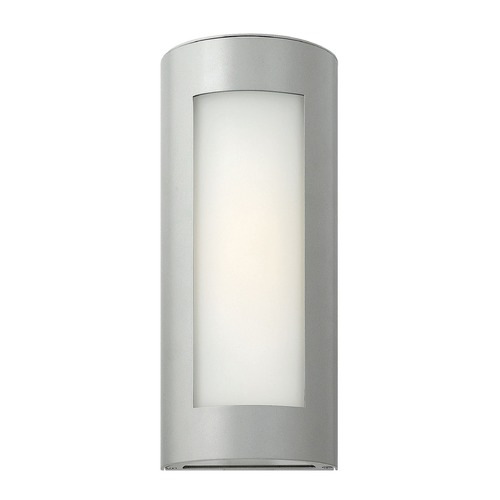 Hinkley Lighting Hinkley Lighting Solara Titanium LED Outdoor Wall Light 2026TT-LED