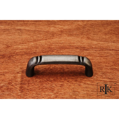 RK International Smooth Pull with Curved Lines @ End CP3710DN