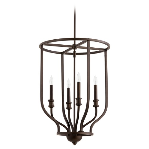 Quorum Lighting Quorum Lighting Richmond Oiled Bronze Pendant Light 6711-4-86