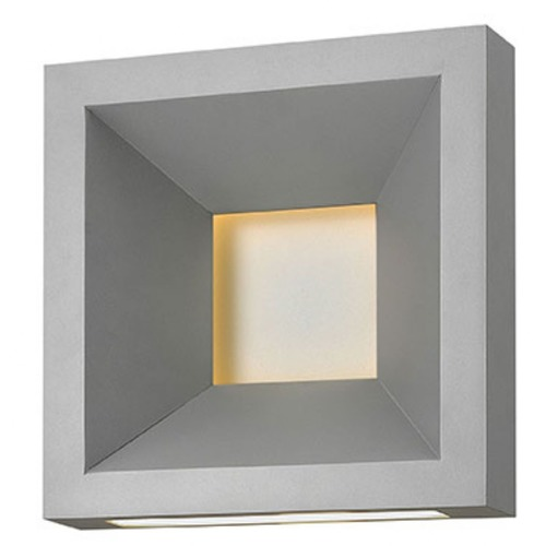 Hinkley Lighting Hinkley Plaza Titanium Plaza LED Outdoor Wall Light 20300TT