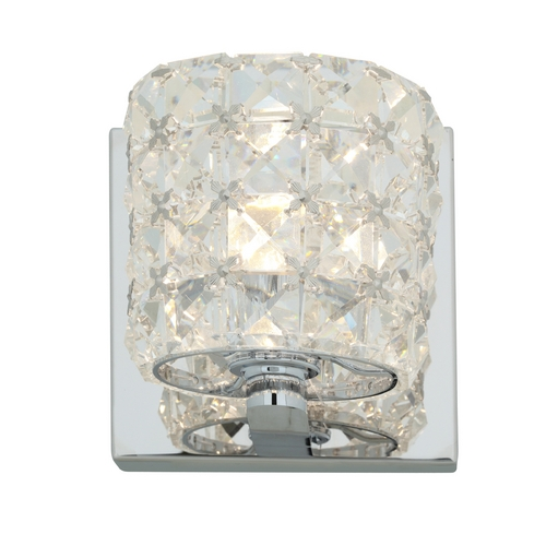 Access Lighting Access Lighting Prizm Chrome Sconce 23920-CH/CCL