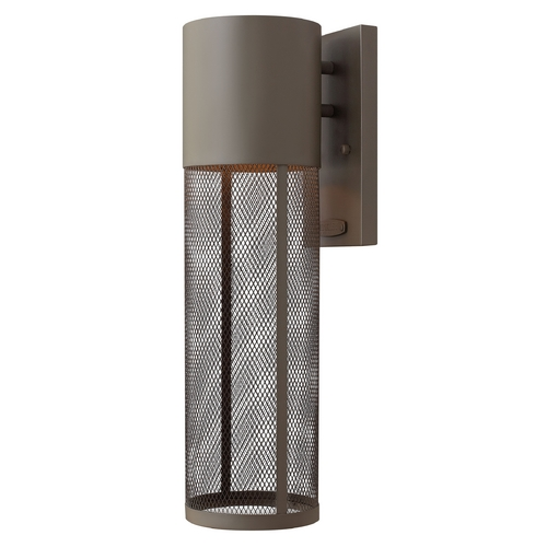 Hinkley Lighting Modern Outdoor Wall Light in Buckeye Bronze Finish 2304KZ-GU24