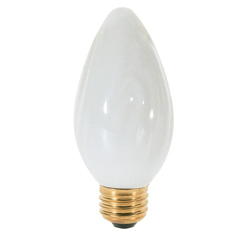 Satco Lighting Incandescent F15 Light Bulb Medium Base 120V Dimmable by Satco S3368