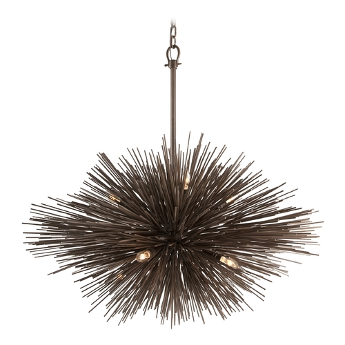 Troy Lighting Pendant Light in Tidepool Bronze Finish F3668