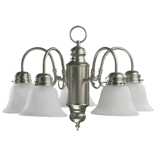 Quorum Lighting Quorum Lighting Satin Nickel Mini-Chandelier 6429-5-65