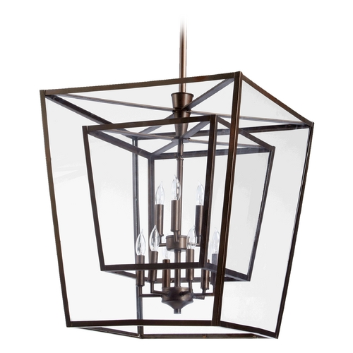 Quorum Lighting Quorum Lighting Kaufmann Oiled Bronze Pendant Light 6904-9-86