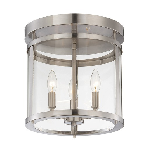 Savoy House Savoy House Satin Nickel Semi-Flushmount Light 6-1043-3-SN