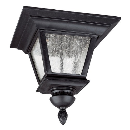 Capital Lighting Capital Lighting Brookwood Black Close To Ceiling Light 9968BK