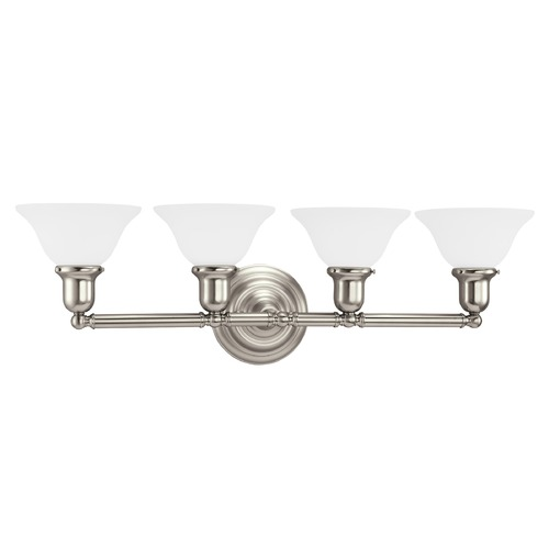 Sea Gull Lighting Sea Gull Lighting Sussex Brushed Nickel LED Bathroom Light 44063EN3-962