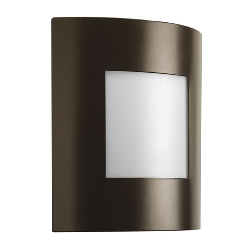 Progress Lighting Progress Modern Outdoor Wall Light in Architectural Bronze Finish P5736-129