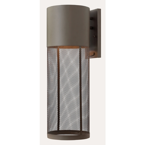 Hinkley Lighting Modern Outdoor Wall Light in Buckeye Bronze Finish 2305KZ-GU24