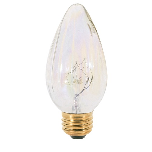 Satco Lighting Incandescent Flame Light Bulb Medium Base Dimmable S3369