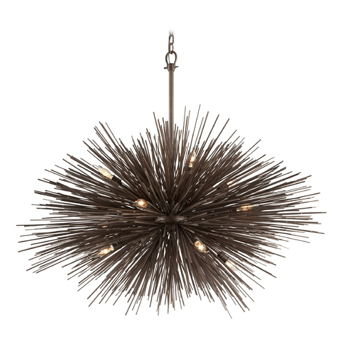 Troy Lighting Pendant Light in Tidepool Bronze Finish F3669