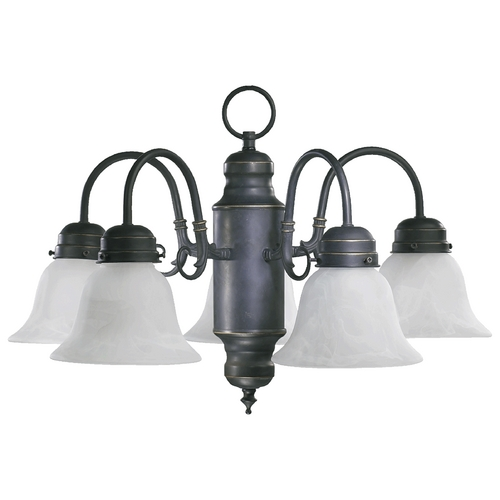 Quorum Lighting Quorum Lighting Old World Mini-Chandelier 6429-5-95