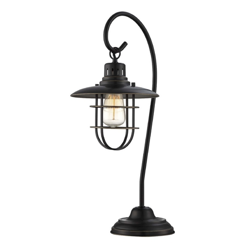 Lite Source Lighting Lite Source Lighting Lanterna II Dark Bronze Table Lamp LS-21456D/BRZ