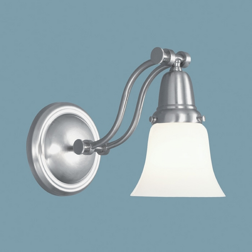 Norwell Lighting Norwell Lighting Franklin Brushed Nickel Sconce 3310-BN-BSO