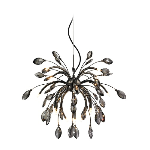 Golden Lighting Golden Lighting Palm Graphite Chandelier C304-16-GP