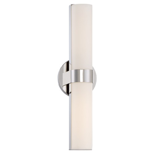 Nuvo Lighting Bond Polished Nickel LED Bathroom Light - Vertical Mounting Only 62/722