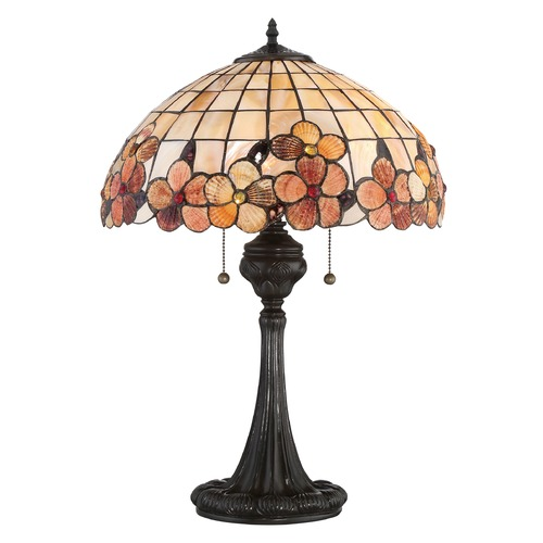 Quoizel Lighting Quoizel Lighting Sea Shell Collection Captiva Vintage Bronze Table Lamp with Bowl / Dome Shade SSCV6224VB