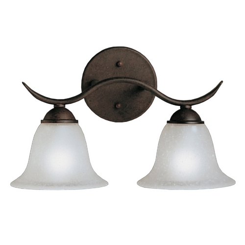 Kichler Lighting Kichler Bathroom Light in Tannery Bronze Finish 6322TZ