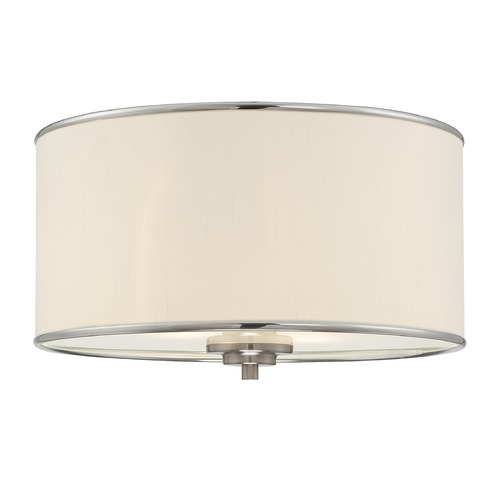 Savoy House Savoy House Satin Nickel Flushmount Light 6-1500-14-SN