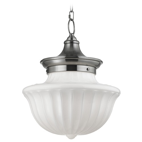 Hudson Valley Lighting Dutchess 2 Light Pendant Light - Satin Nickel 5015-SN