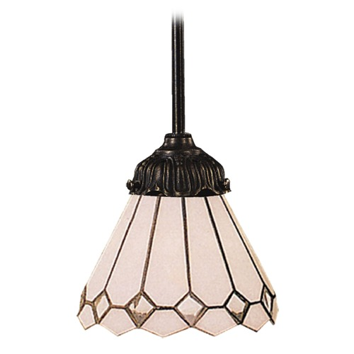 Elk Lighting Mini-Pendant Light with Multi-Color Glass 078-TB-04