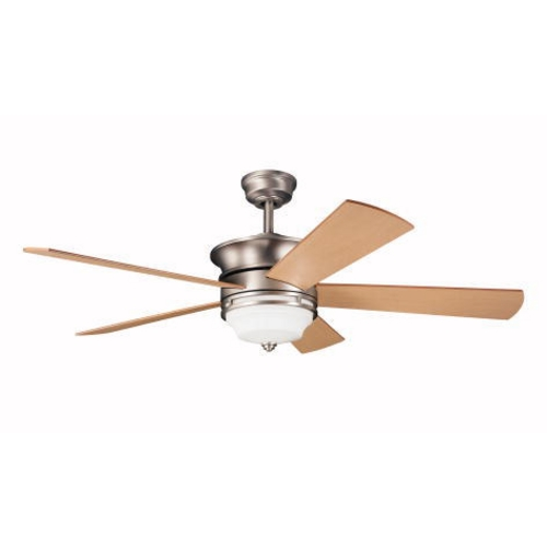 Kichler Lighting Kichler 52-Inch Ceiling Fan with Five Blades and Light Kit 300114-NI
