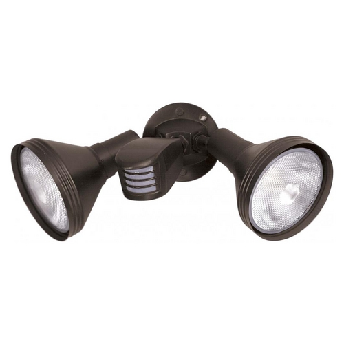 Satco Lighting Security Light in Bronze Finish 76-531