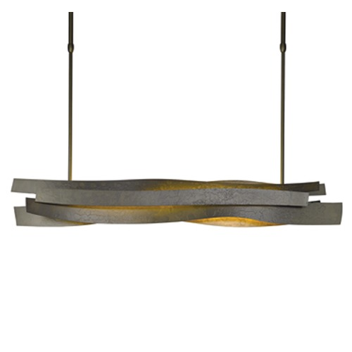 Hubbardton Forge Lighting Hubbardton Forge Flux Bronze Island Light 139727-LED-STND-05
