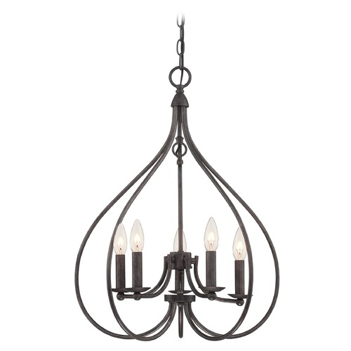 Lite Source Lighting Lite Source Lighting Farrah Dark Bronze Chandelier LS-19727