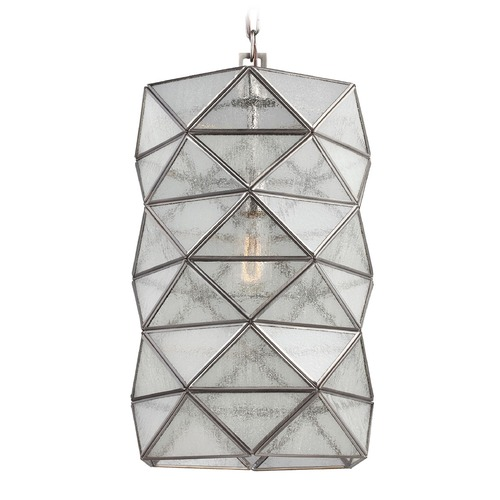 Sea Gull Lighting Sea Gull Lighting Harambee Antique Brushed Nickel Pendant Light 6641401-965