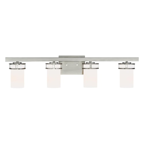 Sea Gull Lighting Sea Gull Lighting Robie Brushed Nickel Bathroom Light 4421604-962
