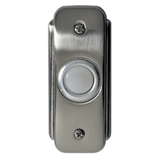Craftmade Lighting Recessed Lighted Doorbell Button BR2-PW