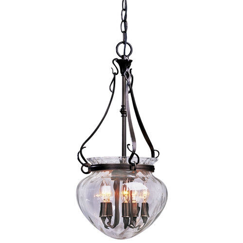 Hubbardton Forge Lighting Five-Light Pendant 12102407-L95