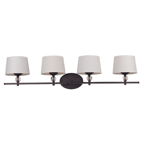Maxim Lighting Maxim Lighting Rondo Oil Rubbed Bronze Bathroom Light 12764WTOI
